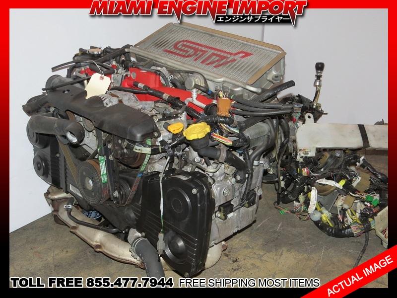 JDM 02-03 Subaru WRX STI EJ207 V7 Engine Motor AVCS EJ20 EJ20T EJ205