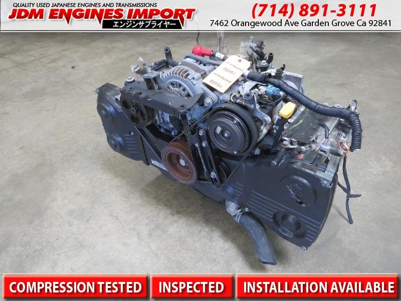 JDM EJ205 Subaru Impreza WRX EJ205 2 0L DOHC Turbo Engine