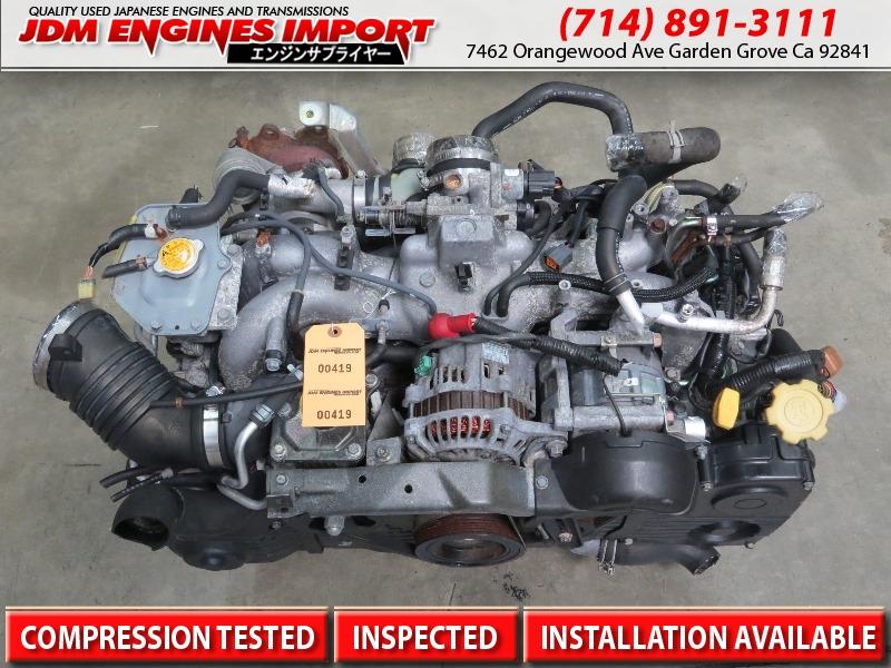 jdm ej205 subaru wrx turbo engine non avcs motor 2002-2005