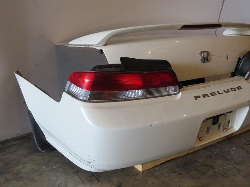 JDM Honda Prelude 1997-2001 OEM Trunk Spoiler Wing Tail Lights Rear Bumper & Lip