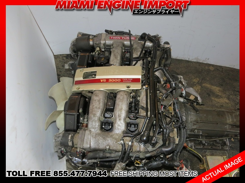 nissan zx  jdm vg twin turbo motor vgdett engine automatic