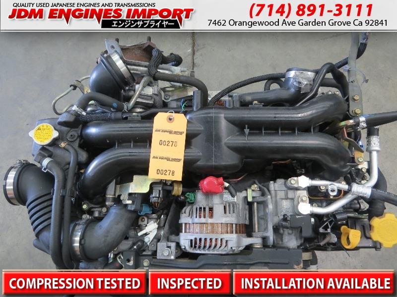 Jdm Subaru Ej20x Engine 2004 2005 2006 Subaru Legacy Gt
