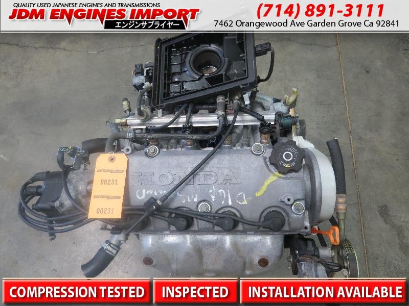 jdm d16a honda civic lx dx non vtec engine replacement d16y7