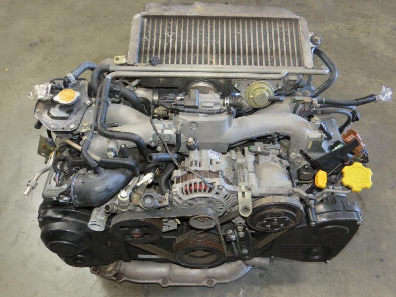 Jdm Ej20 Turbo Subaru Impreza Wrx Engine Automatic