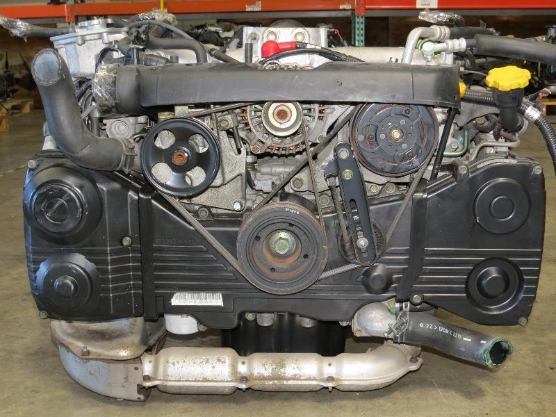 JDM EJ20 TURBO SUBARU IMPREZA WRX AVCS ENGINE LONGBLOCK EJ205