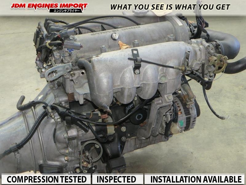 JDM MAZDA MIATA 1 6L B6 ENGINE 5 SPEED TRANSMISSION FITS 90-97