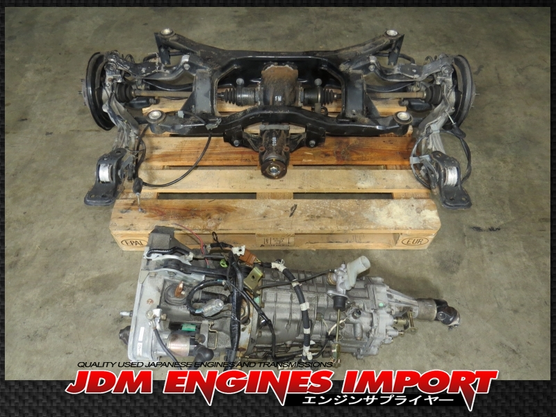 Mid State Toyota >> JDM 03-09 SUBARU LEGACY OUTBACK 3.0R 6 SPEED MANUAL ...