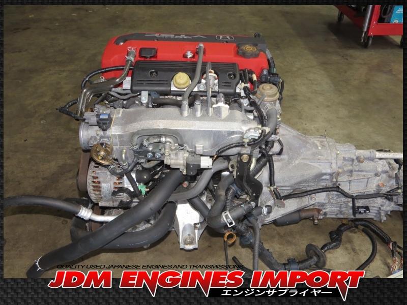 JDM HONDA S2000 F20C AP1 2.0L DOHC VTEC ENGINE 6 SPEED MANUAL TRANSMISSION ECU WIRING HARNESS ...