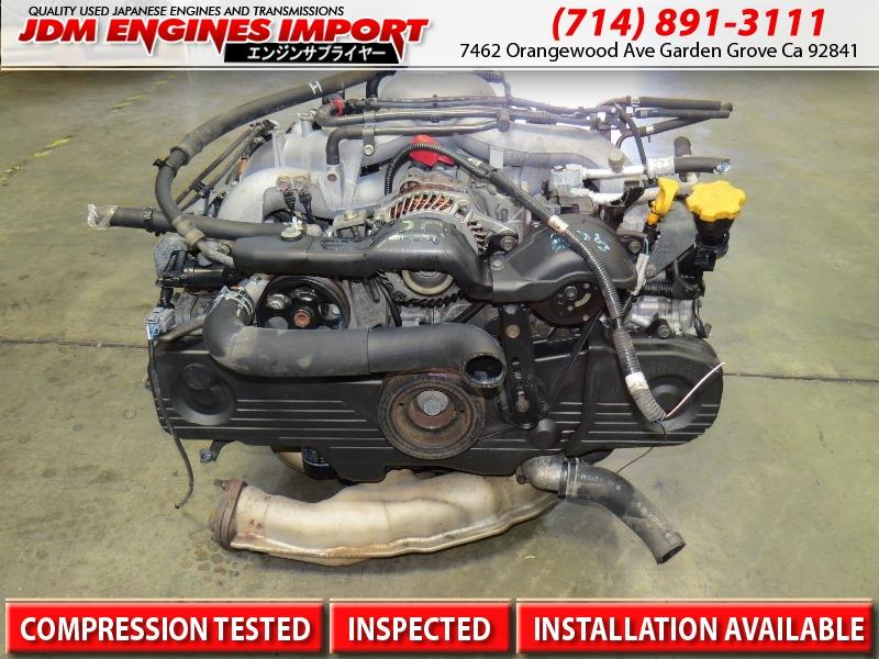 JDM SUBARU EJ20 SOHC ENGINE REPLACEMENT FOR EJ25