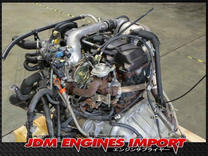 Toyota Land Cruiser Diesel >> JDM 2L TOYOTA HILUX 4RUNNER 2.4L EFi DIESEL TURBO ENGINE AUTOMATIC RWD TRANS ECU 2L-TE