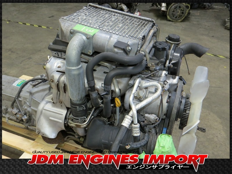 Toyota LandCruiser 4Runner 1KZ-TE Turbo Diesel Engine RWD