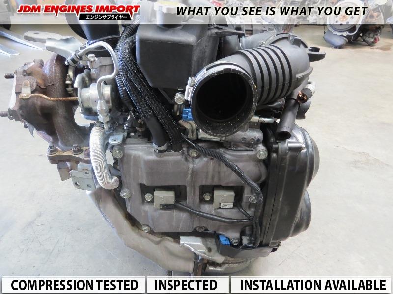 2007-2010 Subaru Impreza WRX Engine Turbo JDM EJ20
