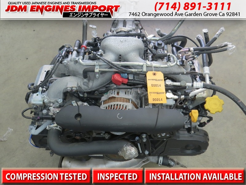 JDM SUBARU EJ20 SOHC ENGINE REPLACEMENT FOR EJ25