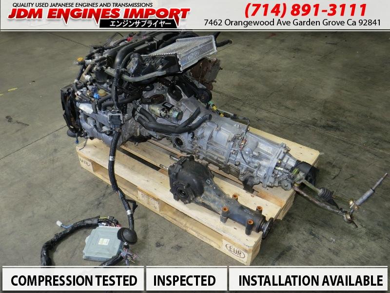 04 05 06 Subaru Baja Forester Xt Legacy Gt Engine 5 Spd