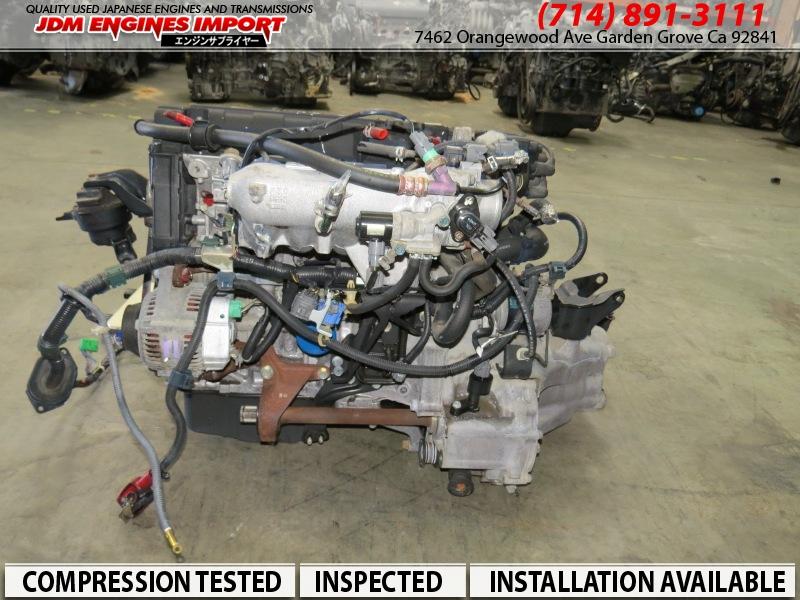 JDM Honda B16A VTEC Engine Transmission Civic SiR B16A2 EK4 ... on