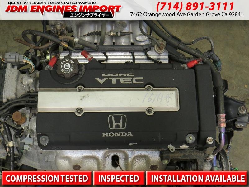 Jdm Honda B16a Vtec Engine Transmission Civic Sir B16a2 Ek4 Motor Obd2a