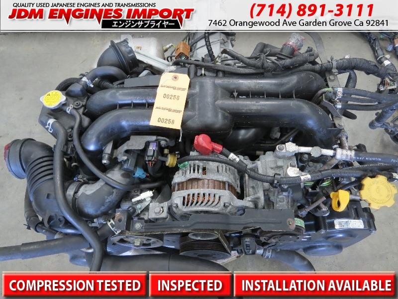 JDM 04 05 06 Subaru Legacy GT Turbo Engine EJ20X