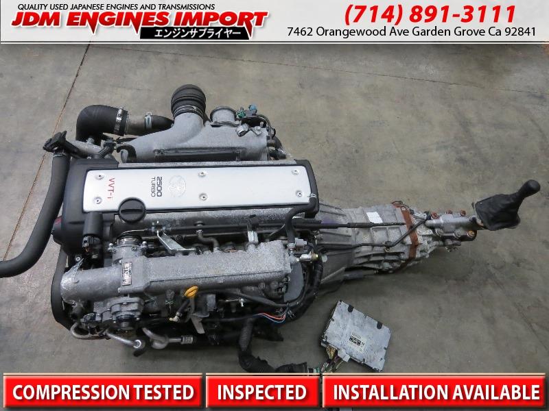 JDM Toyota 1JZ GTE VVTI 2 5L Front Sump Engine R154