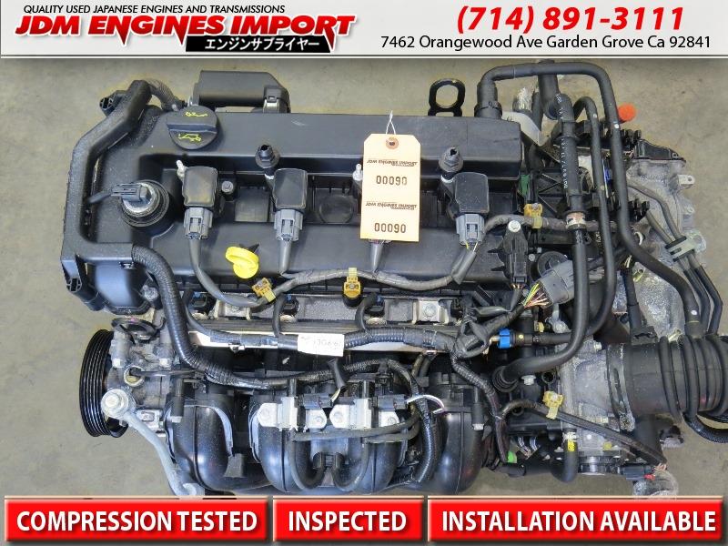06 09 Mazda 3 Mazda 6 Engine 4 Cyl 2 3l Jdm L3 Ve Motor