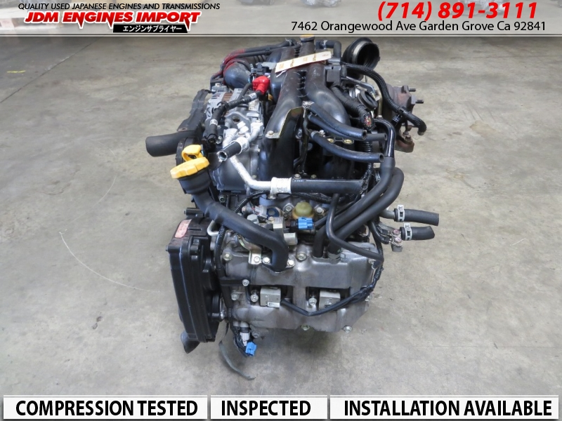 Jdm 04 05 06 Subaru Legacy Gt Forester Xt Baja Turbo Engine Ej20x Replacement For Ej25 Motor