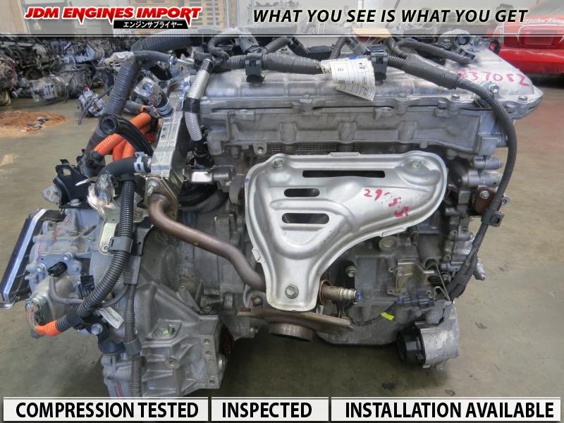 JDM 2ZRFXE TOYOTA PRIUS ENGINE FITS 10-17 PRIUS 1 8L MOTOR 2ZR