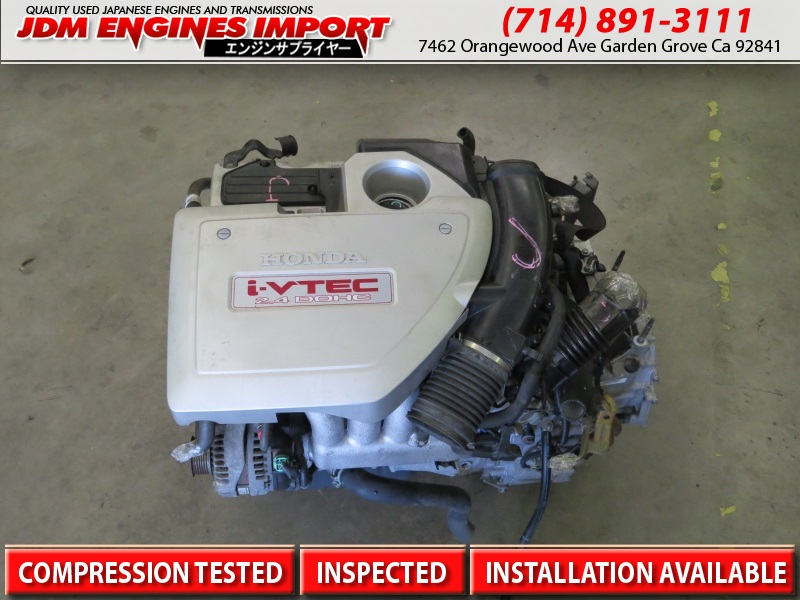JDM 04-08 ACURA TSX 2 4L K24A TYPE S RBB3 ENGINE