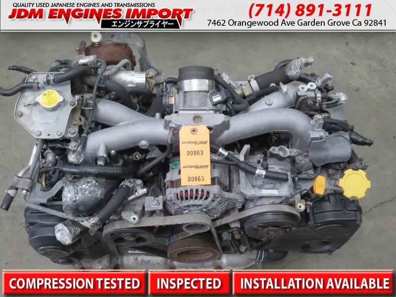 SUBARU WRX ENGINE JDM EJ205 2 0L TURBO MOTOR 02