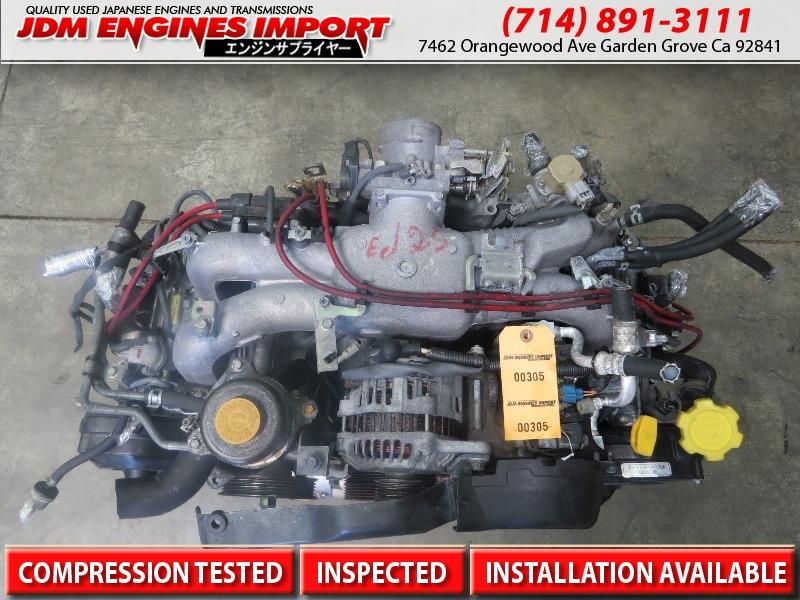 SUBARU ENGINE DOHC OUTBACK FORESTER 2 5L EJ25