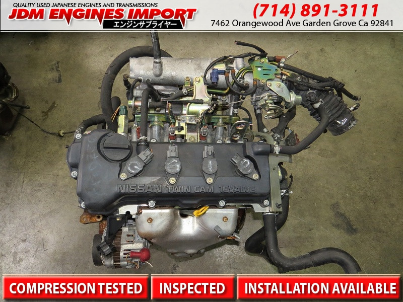 2000 2002 jdm nissan sentra qg18 1 8l engine jdm motor. Black Bedroom Furniture Sets. Home Design Ideas